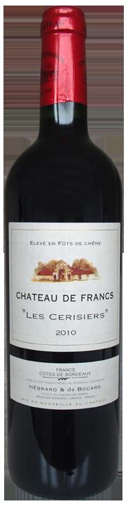 """Château de Francs """"Les Cerisiers"""", Côtes de Francs"""